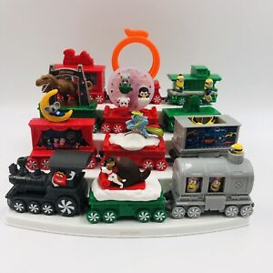 2017 McDonald's Happy Meal Christmas HOLIDAY EXPRESS TRAIN Toys COMPLETE SET