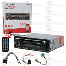 BRAND NEW DP AUDIO CAR AUDIO 1-DIN CD MP3 AM FM BLUETOOTH STEREO RECEIVER