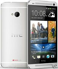 HTC One M7 PN07120 AT&T UNLOCKED LTE Android 4.1 32GB Smartphone Silver GREAT