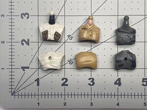 "1/18 or 4"" scale Gi joe modern Th fodder body parts chest set Lot 002"