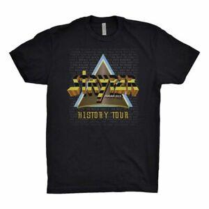Stryper 2019 History Tour Small T-Shirt NEW non cd/vinyl/dvd/poster/hat art! NEW