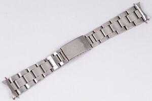 Vintage 1976 Rolex Steel Oyster Bracelet Ref. 78360 w/ 558 20 mm Ends Datejust