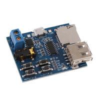 Mp3 Player Audio Module Mp3 Decoder Board TF Card /USB /Micro USB /AUX