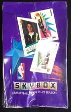 1991-92 Season Box Basketball Trading Cards