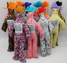 """NEW Random Pattern Color Stress Relief 12"""" Dammit Doll Plush toy Set of 4"""