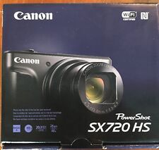 Brand NEW Black Canon PowerShot SX720 HS 20.3MP 40x Digital Camera SX720HS