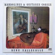 RENE VALLECALLE Mandolines & guitares corses CONSUL XCMX 19706