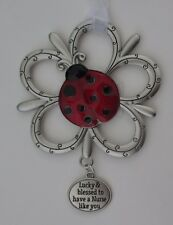 T Lucky blessed to have nurse like you Loving Little Ladybugs Ornament ladybug