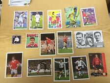 JOB LOT of 15  Manchester United Football Cards