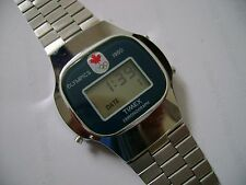 VINTAGE MEN DIGITAL TIMEX  OLYMPIC RUNNING
