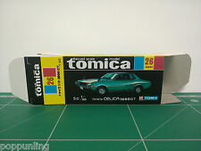 REPRODUCTION BOX for Tomica Black Box No.26 Toyota Celica 1600GT