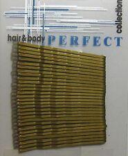 30/60 Stück Haarklemmen Haarnadeln Haarklammern gewellt schwarz gold silber