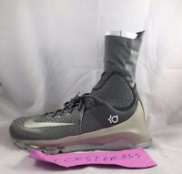 Nike KD 8 Elite Tumbled Grey White Basketball Shoes 834185-001 Men's 8-11 NEW