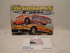 1971 MARKLIN DIECAST TOY CATALOG NEW CONDITION