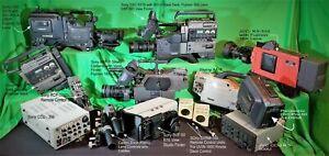 Panasonic DVCpro 50 AJ-D90P / ENG / SONY BVP-7 Studio Camera, Camera Plus Bundle
