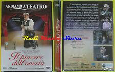 DVD film IL PIACERE DELL'ONESTA' teatro Pirandello SIGILLATO HOBBY & WORK no(D3)