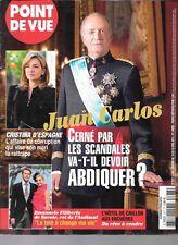 POINT DE VUE N° 3377--JUAN CARLOS SCANDALES/CRISTINA D'ESPAGNE/HOTEL CRILLON