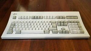 AT&T 305B Mechanical Keyboard PS/2, French, AZERTY, Buckling Springs BLACK PLATE