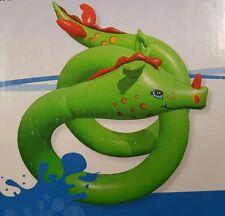 Aufblasbare Wasserschlange Wasserspielzeug Kinderspaß im Wasser L: ca. 570cm