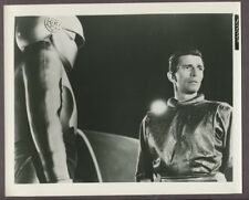 Michael Rennie & Gort Day The Earth Stood Still 1951 Original Photo Sci Fi J3366