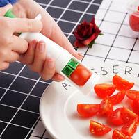 Frucht Tomaten Trauben Schäler Kirschschneider Schneider Küchengerät Werkze L8O6