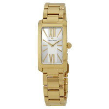 Maurice Lacroix Fiaba Silver Dial Gold-plated Ladies Watch FA2164-PVY06-112