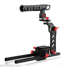 WEIHE Motorized Follow Focus Zoom Control Video Shoulder Rig for DSLR Camera