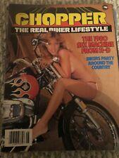 Chopper Magazine  August 1980