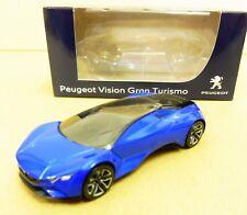 "Peugeot Vision Gran Turismo Bleu 1/64 ""3 Inches"" Diecast NOREV Produit NEUF !!"