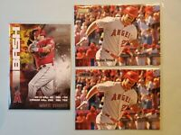 2020 Topps Stadium Club MIKE TROUT Bash and Burn Insert Angels #BAB-2 w/2 Base