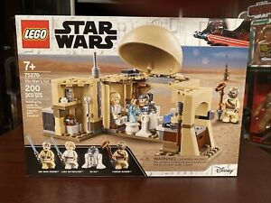 NEW LEGO Star Wars Obi-Wan's Hut (75270) Sealed Unopened 7+ 200 peices