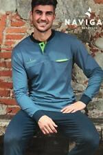 Navigare Pigiama Serafino 4/M Blu Cotone Supima Homewear