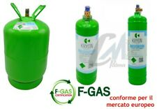 BOMBOLA GAS REFRIGERANTE CONDIZIONATORI R134A DA 12 / 2,1 / 0,9 KG CONFORME EU