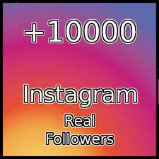 10000 REAL FOLLOWERS |BEST QUALITY|