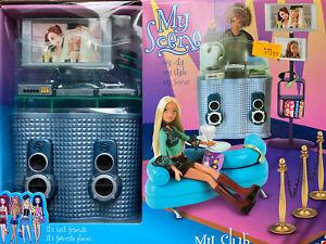 MATTEL Barbie My Scene MY CLUB Doll Accessory Playset 2003 B4863 SEALED NRFB NIB