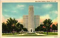 Vintage Postcard - State Office Building Skyscraper Albany New York NY #3763