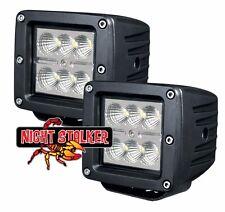 """3"""" Square 18 Watt Night Stalker LED.High Energy Flood Beam Off Road Light. Each"""
