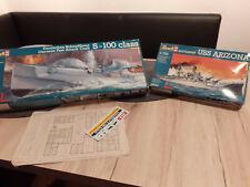 Revell 05051Deutsches Schnellboot in 1:72 OVP,und 05027 USSArizona in 1/720 OVP