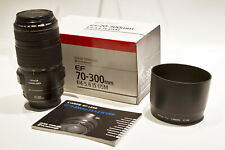 Canon EF 70-300mm f/4-5.6 IS USM Lente Zoom Telefoto Teleobjetivo Objetivo Photo