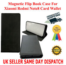 Magnetic Flip Book Cover Case For Xiaomi Redmi Note8 Card Wallet Leather Slimfit