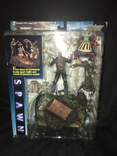 SPAWN McFarlane's Movie Playsets Series 1 The Graveyard 1997