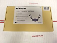 Wavlink AC1200 Dual-Band Smart Wireless Router 2 LAN port and USB Port Fast New