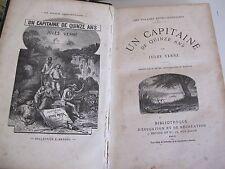 Jules Verne un capitaine de 15 ans édition 1878 éducation récréation Hetzel