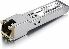 Pequeño form-factor cobre 100/1000 Base-T GLC-T RJ45 Módulo de transceptor tasa de múltiples Ethernet 1G