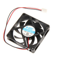 Portable Computer Case Cooler DC 12V  70mm 70x70x15mm PC CPU Cooling Cooler Fan