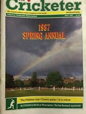 THE CRICKETER INTERNATIONAL MAY 1987 SPRING ANNUAL Volume 68 Issue Number 5 VGC