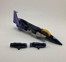 VTG Transformers G1 Skywarp Action Figure Jet Plane Parts Repair Weapons Gun