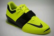 super popular bd1cc 49a54 Nike Romaleos 3 Volt Yellow Weightlifting Shoes 852933-700 Size 14 US