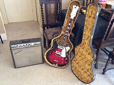 Vintage Canora Electric Guitar & Goldentone Tremolo Valve Amp
