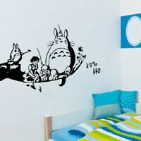 My Neighbour Totoro Wall Stickers For Kids Rooms Bedroom Decoration Lounge Decor